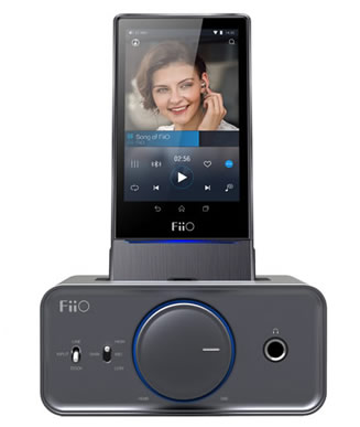 fiio dock how to play through x1
