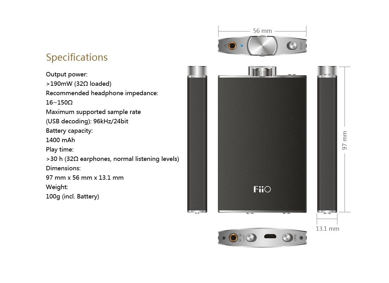 Fiio Q1 Headphone amplifier